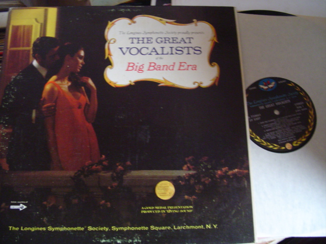 GREAT VOCALISTS - BIG BAND ERA - LONGINES