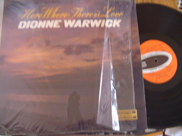 DIONNE WARWICK - HERE WHERE THERE IS LOVE - SCEPTER