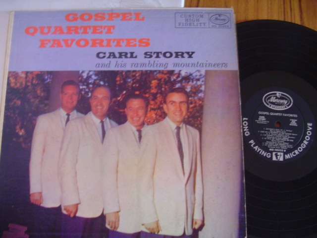 CARL STOREY - GOSPEL QUARTET - MERCURY