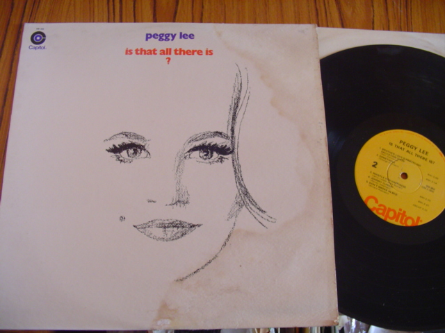 PEGGY LEE - IS THAT ALL THERE IS - CAPITOL