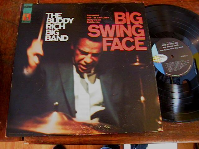 BUDDY RICH - BIG SWING FACE - PACIFIC - J 398