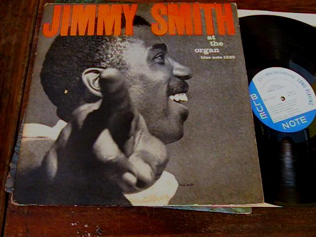 JIMMY SMITH - AT THE ORGAN - BLUE NOTE J 397
