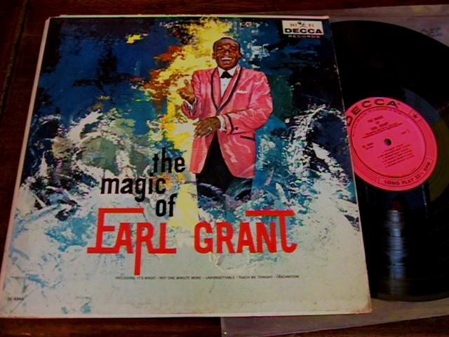 EARL GRANT - THE MAGIC OF - DECCA - J 412