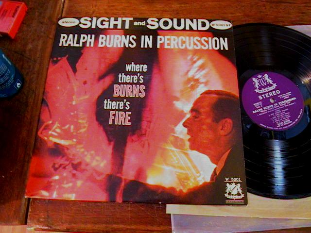 RALPH BURNS - WHERE THERES BURNS FIRE - WARWICK - J 411