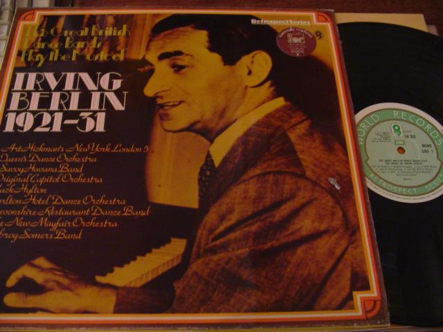 BRITISH DANCE BAND - PLAY IRVING BERLIN 2 - WRC - J 669