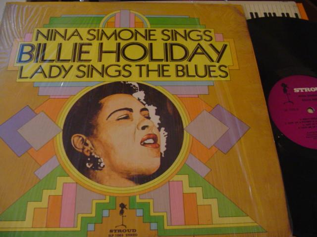 NINA SIMONE - SINGS BILLIE HOLIDAY - STROUD - J 663