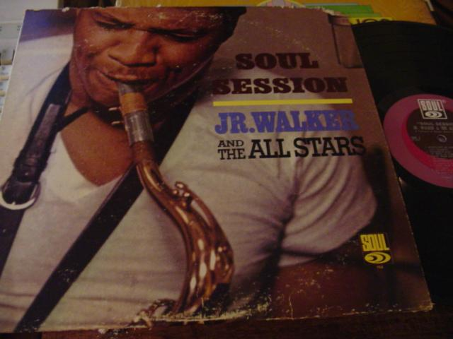 Jr WALKER - SOUL SESSION - SOUL - J 662