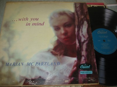 MARIAN McPARTLAND - WITH YOU IN MIND - CAPITOL { J 867