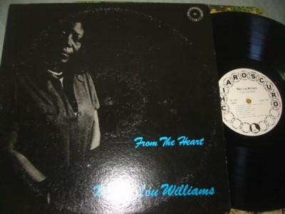 MARY LOU WILLIAMS - FROM THE HEART - CHIAROSCURO { J 879