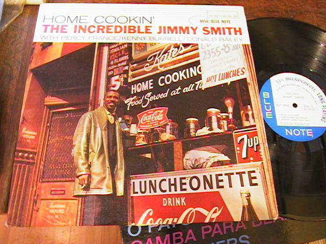 Jimmy Smith - HOME COOKIN' - BLUE NOTE W 63 - - J 546