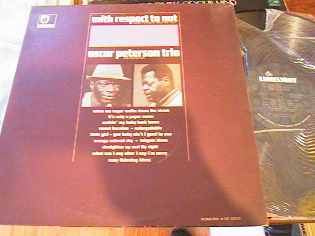 OSCAR PETERSON - RESPECT TO NAT - LIMELIGHT - J 535