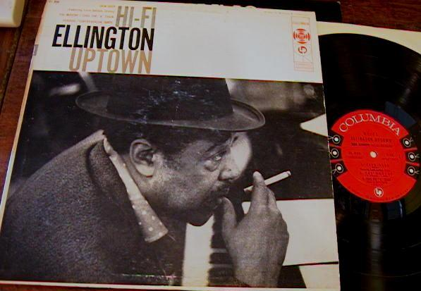 DUKE ELLINGTON - HI-FI UPTOWN - COLUMBIA 6 EYE - J 500
