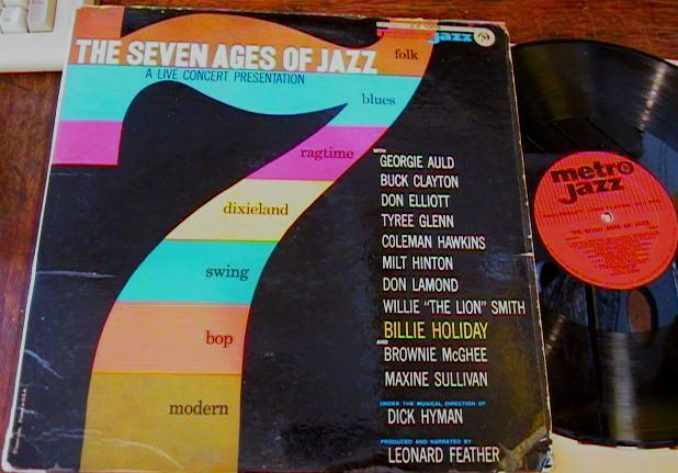 VARIOUS ARTISTS - 7 AGES OF JAZZ - METRO - J 514