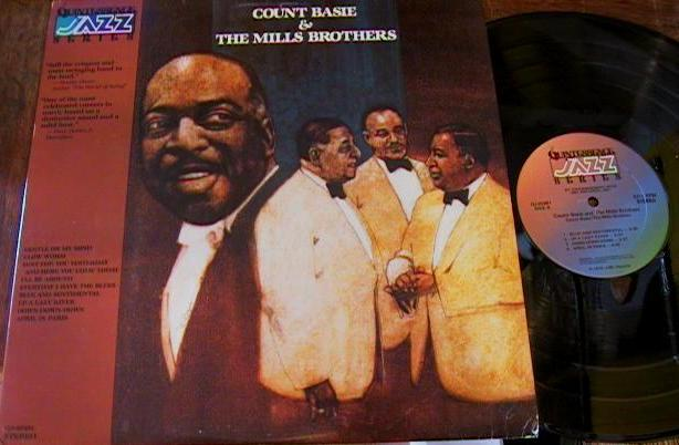 COUNT BASIE & MILLS BROTHERS - QUINTESSENCE JAZZ - J 531