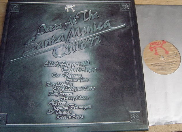 Various Artists - Jazz at Santa Monica Civic 1972 - Pablo 3LP G