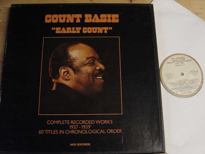 Count Basie - Early Count - MCA 4LP French Pressing