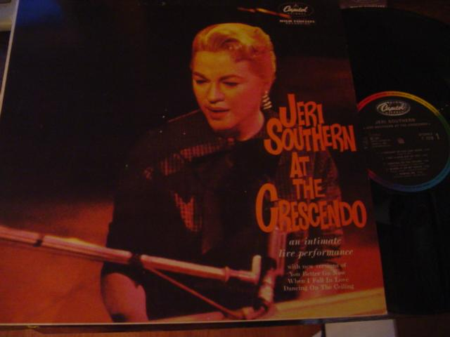 JERI SOUTHERN - AT THE CRESCENDO - CAPITOL - J 687