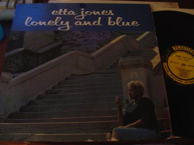 ETTA JONES - LONLEY & BLUE - PRESTIGE - J 684
