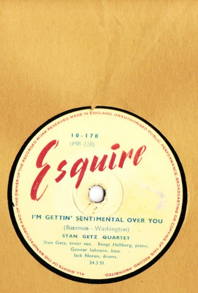 Stan Getz Quartet - Ionly have eyes for you - Esquire UK
