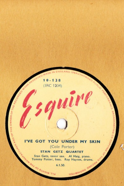 Stan Getz Quartet - I've got you under my skin - Esquire UK