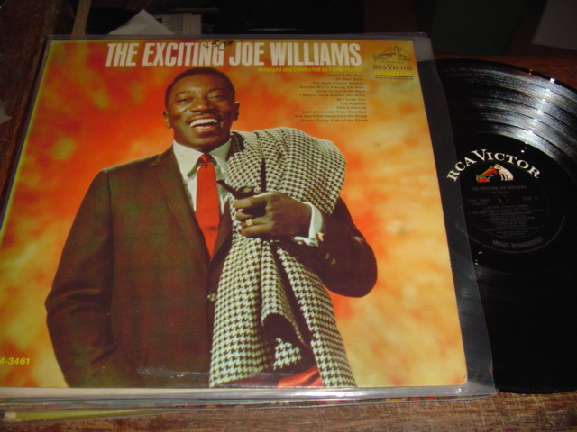 JOE WILLIAMS - THE EXCITING - RCA PROMO - J 249