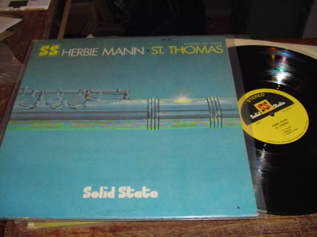 HERBIE MANN - St THOMAS - SOLID STATE - J 246