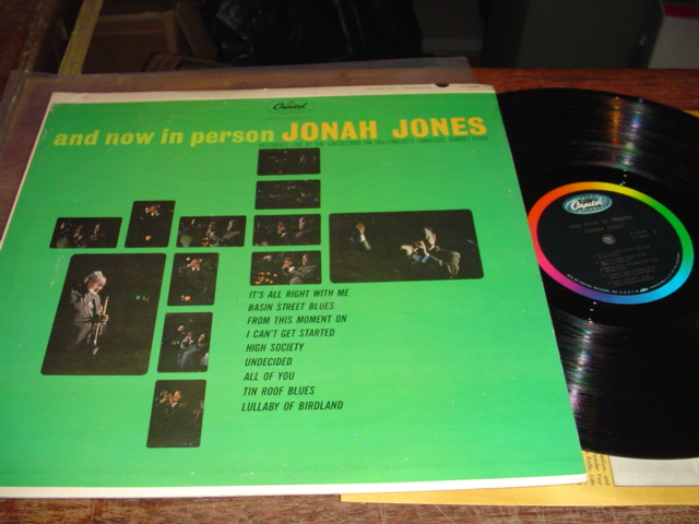 JONAH JONES - NOW IN PERSON - CAPITOL - J 242