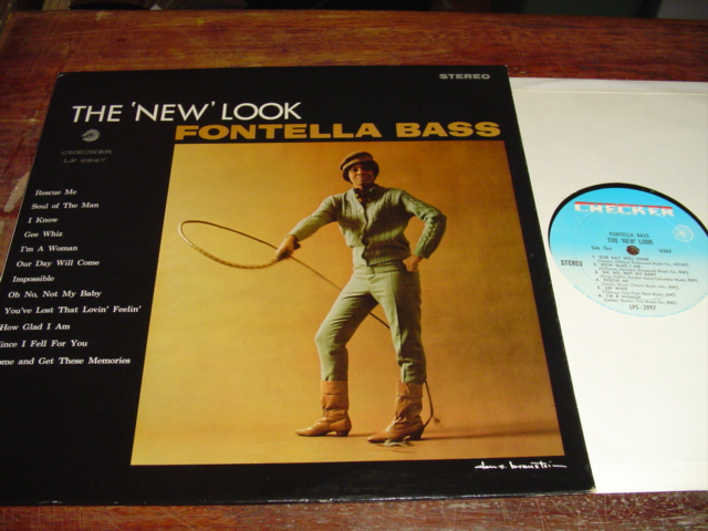 FONTELLA BASS - THE NEW LOOK - CHECKER - 225