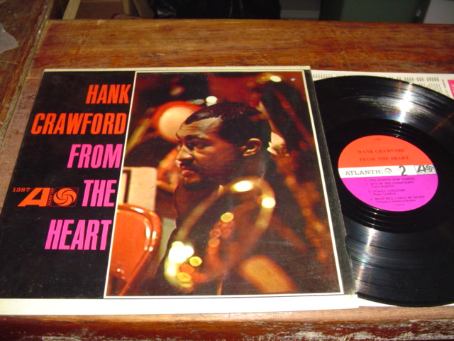 HANK CRAWFORD - FROM THE HEART - ATLANTIC - J 224