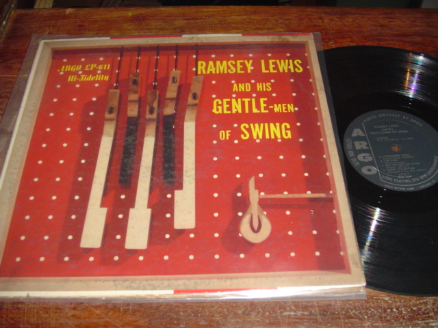RAMSEY LEWIS - - GENTLE MEN OF SWING - ARGO - J 219