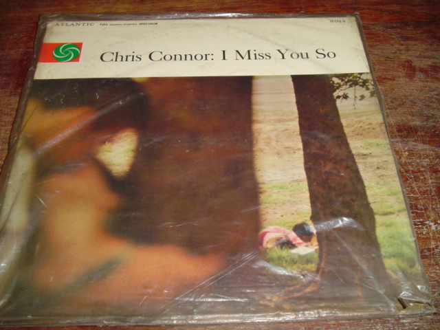 Sealed - Chris Connor - I miss you so - ATLANTIC 8014 1957