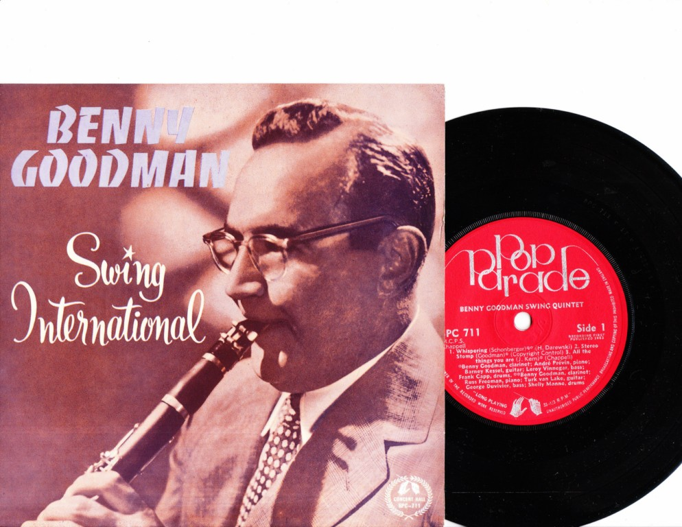Benny Goodman - Swing International - Concert Disc BPC-711