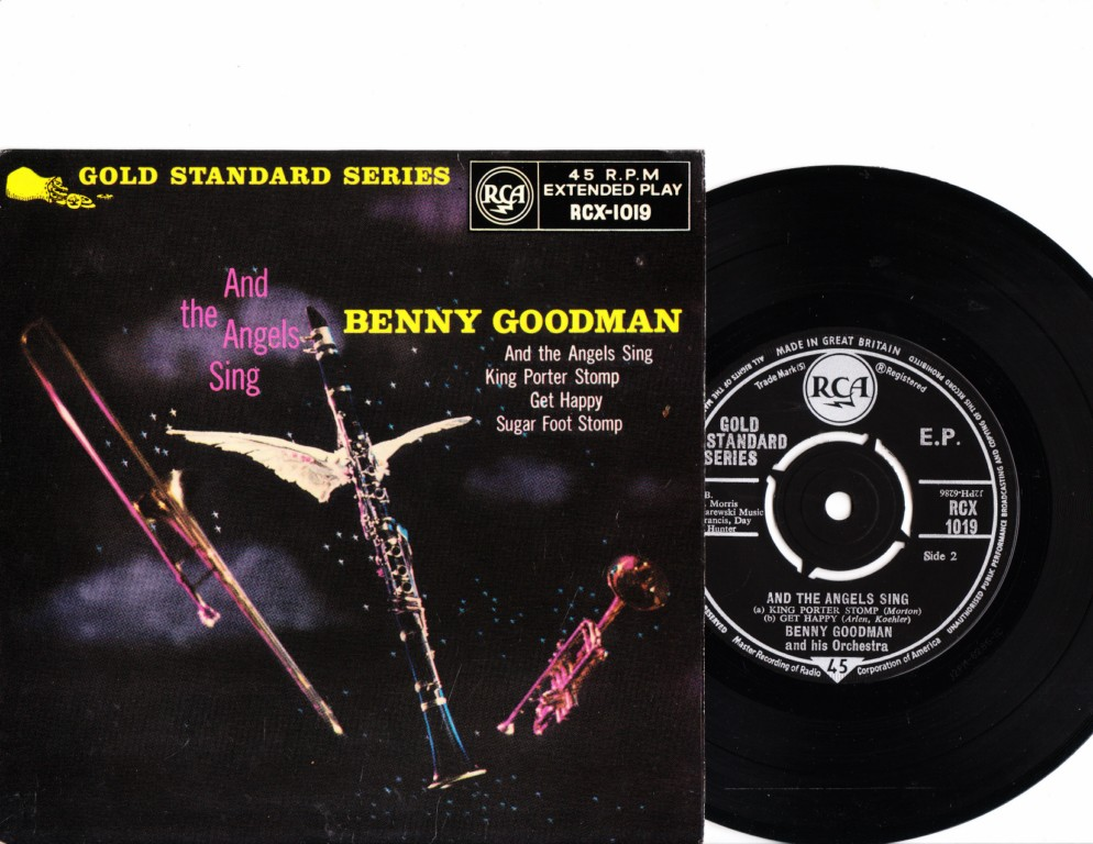Benny Goodman - And the Angels Sing - RCA RCX-1019 EP