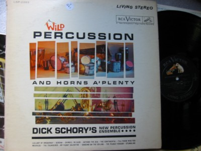 DICK SCHORY - WILD PERCUSSION - RCA LSP - J 261