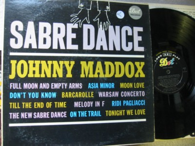 JOHNNY MADDOX - SABRE DANCE - DOT - J 264