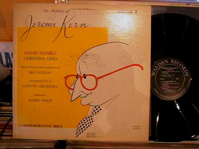 JEROME KERN - MELODIES VOL 2 - WALDEN RECORDS