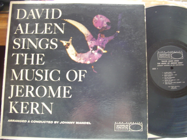 DAVID ALLEN - SINGS JEROME KERN - WORLD PACIFIC