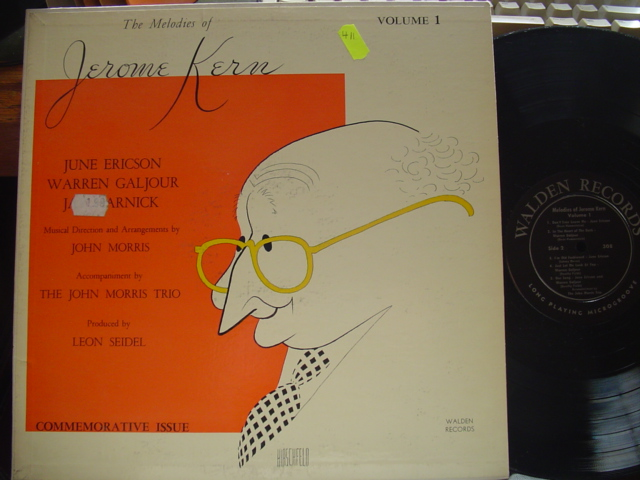 JEROME KERN - MELODIES VOL 1 - WALDEN RECORDS