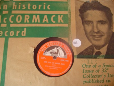 JOHN McCORMACK - MOON OF MY DELIGHT - HMV IRX1005 { 66