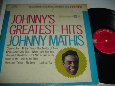 JOHNNY MATHIS - GREATEST HITS - COLUMBIA { 192