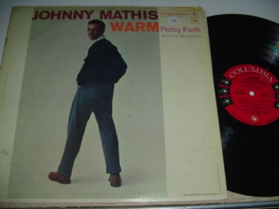 JOHNNY MATHIS - WARM - COLUMBIA { 194