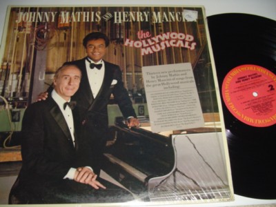 JOHNNY MATHIS & MANCINI - HOLLYWOOD - COLUMBIA { 196