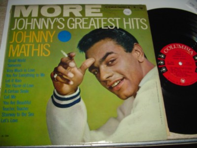 JOHNNY MATHIS - GREATEST HITS - COLUMBIA { 205
