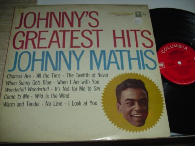JOHNNY MATHIS - GREATEST HITS - COLUMBIA { 212