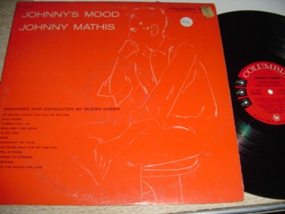 JOHNNY MATHIS - JOHNNYS MOOD - COLUMBIA { 214