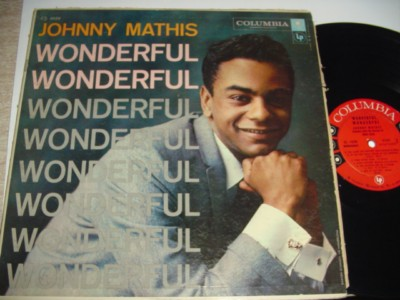 JOHNNY MATHIS - WONDERFUL WONDERFUL - COLUMBIA { 216