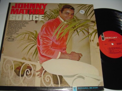 JOHNNY MATHIS - SO NICE - MERCURY { 186