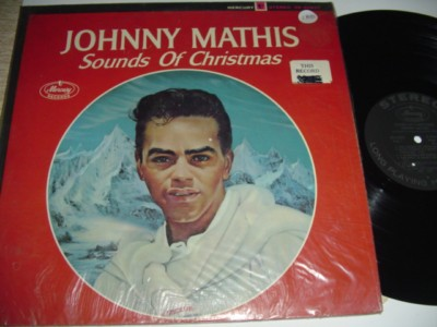 JOHNNY MATHIS - SOUNDS OF CHRISTMAS - MERCURY { 188