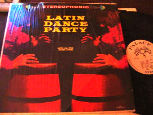 LATIN - DANCE PARTY - VARIOUS BANDS - PALACE { L 59