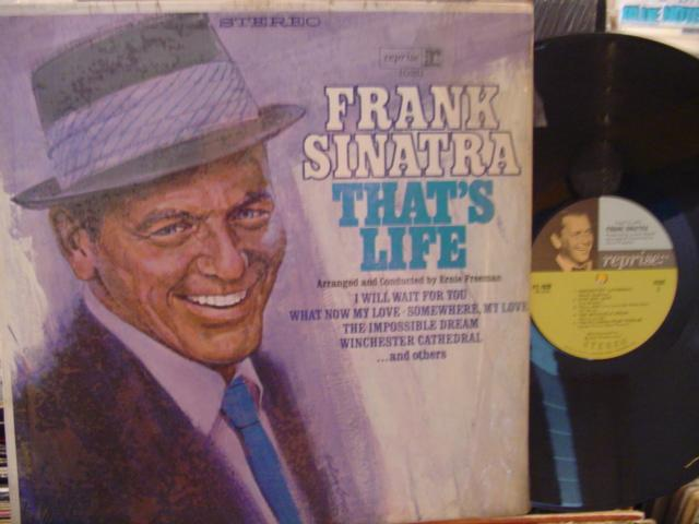 FRANK SINATRA - THATS LIFE - REPRISE SHRINK - { 175